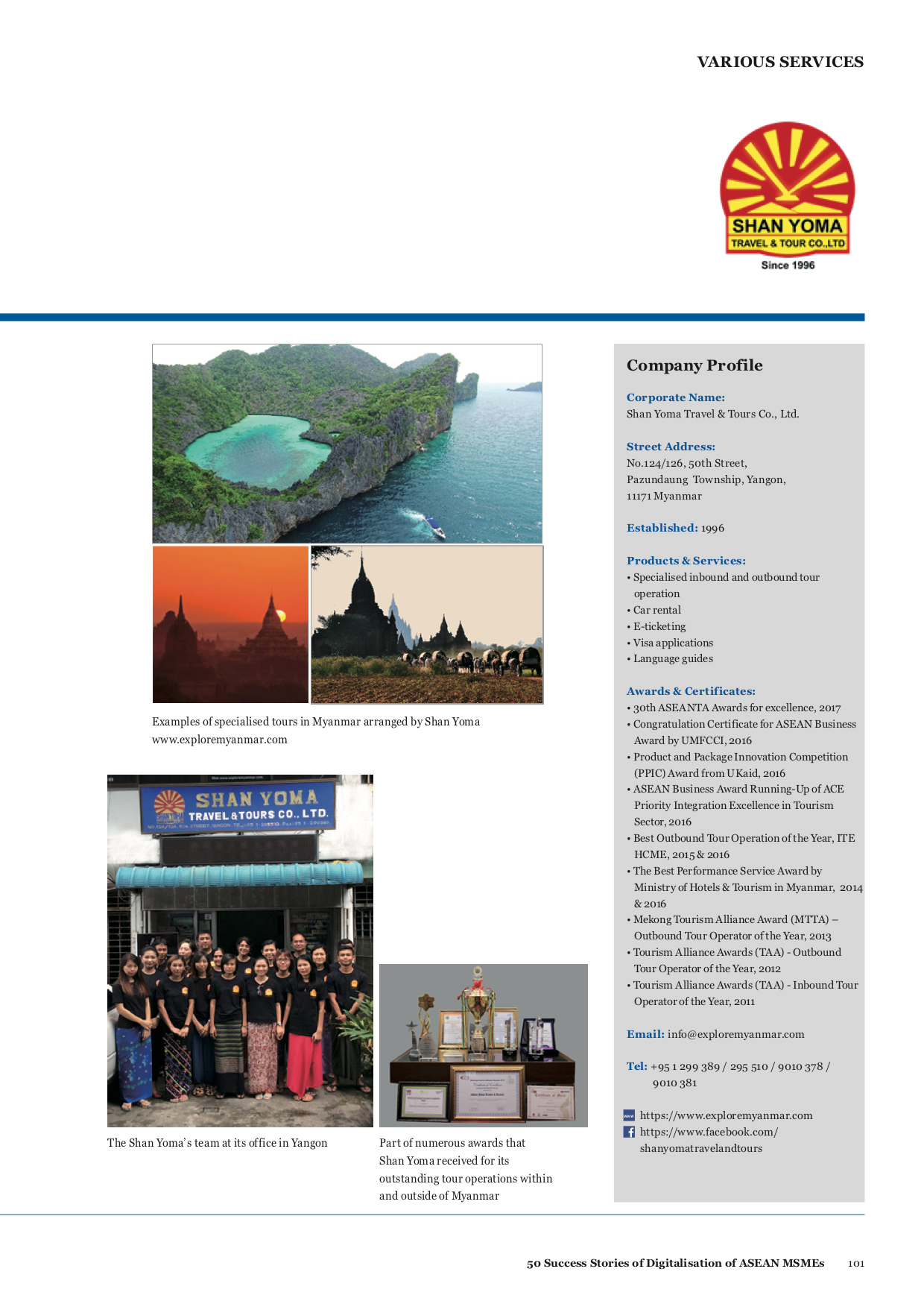 Best Travel Agent in Myanmar (Burma)