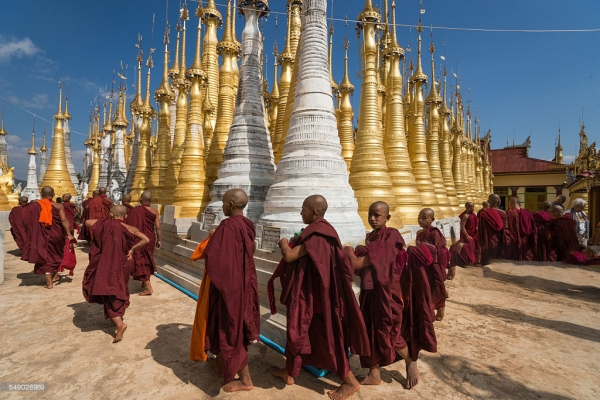 Shwe Indein of Inle
